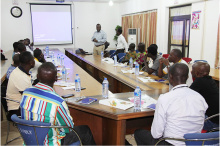 BUSAC Fund Sponsors a four-day Capacity Building Workshop for Leather Bags Manufacturers in Kumasi